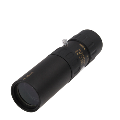 Buy 10-30x25mm Telescope Monocular for Backpacking / Hiking, Black for $19.01 in SUNSKY store