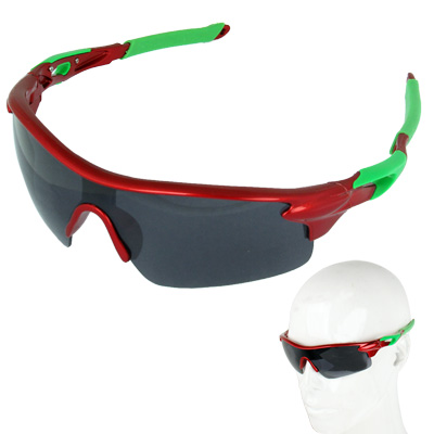 Buy UV400 Protection Stylish Resin Lens Bicycle Sunglasses, Red for $2.44 in SUNSKY store