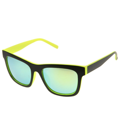 Buy UV400 Protection Stylish Double-color Frame Sunglasses for Outdoor Sports, Yellow for $2.44 in SUNSKY store