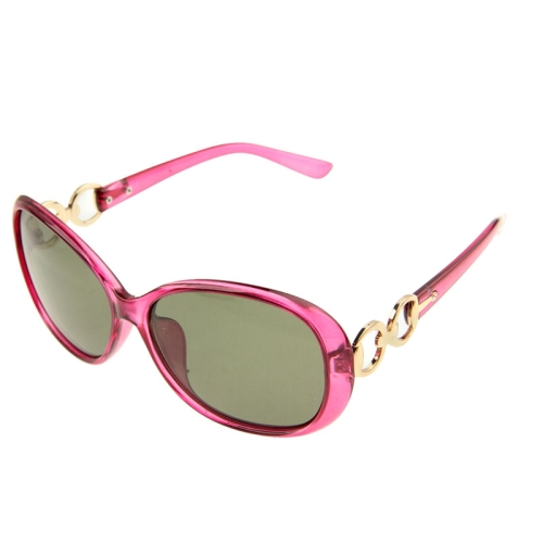 UV400 Protection Stylish Polarizing Sunglasses for Outdoor Sports, Magenta