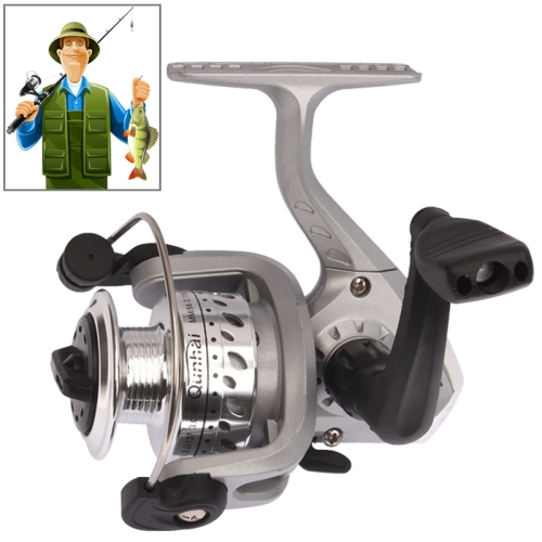 Buy Ball Bearings Gear Ratio 5.1:1 Fishing Spinning Reel, Grey for $6.67 in SUNSKY store