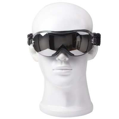 Buy Silver Goggles / Snowboard Goggles with Strap Leash for $6.12 in SUNSKY store