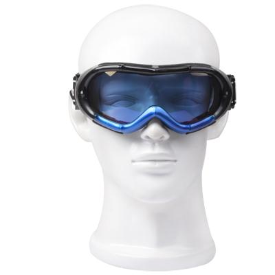 Blue Goggles / Snowboard Goggles with Strap Leash
