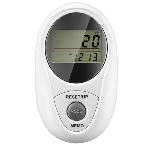 Buy 3D All Dimensional Waterproof Multifunction Digital Electronic Pedometer Step Counter, White for $9.73 in SUNSKY store