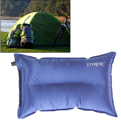 Buy Outdoor Camping Automatic Air Pillow Camping Pillow Sleeping Bag Cushion for Leaning on Pillow, Random Color Delivery for $3.45 in SUNSKY store