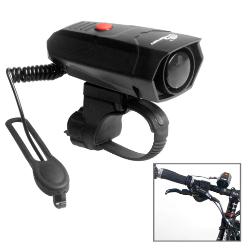 Buy OQSPORT 110DB Super Loud Cycling Bicycle Electronic Alarm Bell Waterproof IP4 Siren Horn Loud Speaker for $7.72 in SUNSKY store