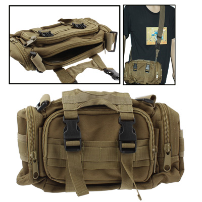 Buy Utility Nylon Waterproof Molle Tactical 3-Way Carrying (Waist / Shoulder / Hand)Camera Pouch Bag with Detachable Strap for $5.72 in SUNSKY store