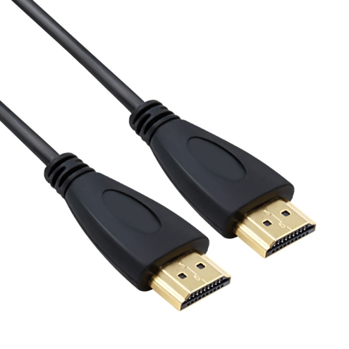 Buy 1.8m HDMI to HDMI 19Pin Cable, 1.4 Version, Support 3D, Ethernet, HD TV / Xbox 360 / PS3 etc (Gold Plated), Black for $1.32 in SUNSKY store