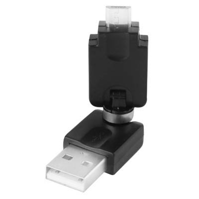 SUNSKY USB 2.0 AM to Micro USB 360 Degree Swivel Adapter