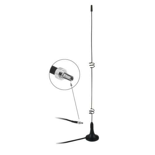 Buy High Quality Indoor CRC9 5dbi 3G Antenna, Black for $2.08 in SUNSKY store