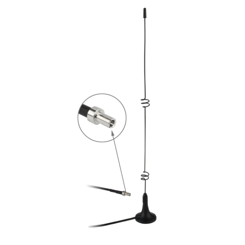 Buy High Quality Indoor TS9 5dbi 3G Antenna, Black for $2.07 in SUNSKY store