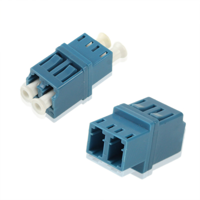 Buy LC-LC Single-Mode Duplex Fiber Flange / Connector / Adapter / Lotus Root Device, Blue for $1.44 in SUNSKY store