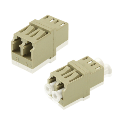 Buy LC-LC Multimode Duplex Fiber Flange / Connector / Adapter / Lotus Root Device, Grey for $1.26 in SUNSKY store