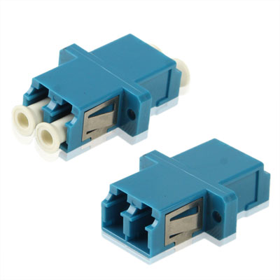 Buy LC-LC Single-Mode Duplex Fiber Flange / Connector / Adapter / Lotus Root Device, Blue for $1.60 in SUNSKY store