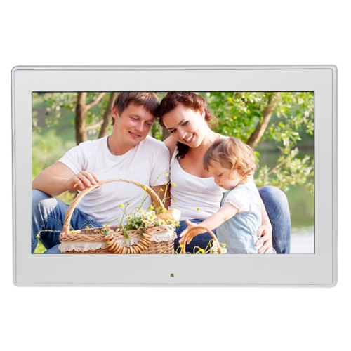 Buy 10.1 inch LED Display Multi-media Digital Photo Frame with Holder & Music & Movie Player, Support USB / SD / SDHC / MMC Card Input, Silver for $71.32 in SUNSKY store