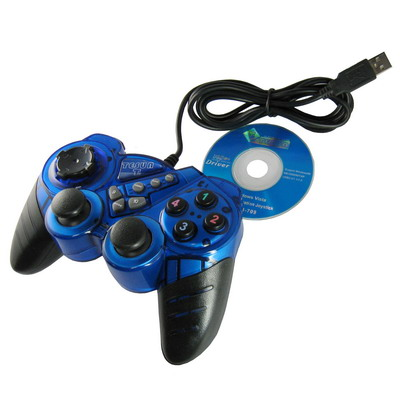 Buy Double Shock PC USB Single Game Pad for $5.75 in SUNSKY store