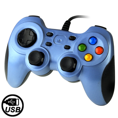 Buy USB 2.0 Dual Shock Vibration Gamepad for PC, Plug and Play, Cable Length: 1.7m for $5.91 in SUNSKY store