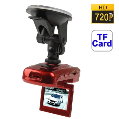Buy ZH-880 HD 720P 2.0 inch Screen Vehicle DVR, Support TF Card, 4X Digital Zoom, AVI Video Format, Motion Detection Video Recording Function, Red for $28.07 in SUNSKY store