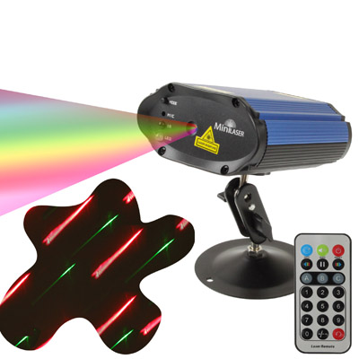 Buy 2-color Multifunction Disco DJ Club Holographic Laser Star Projector with Remote Control & Holder, Support Sound Active Function, M105 (Dark Blue) for $59.28 in SUNSKY store