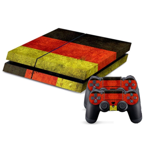 Buy Germany Flag Pattern Decal Stickers for PS4 Game Console for $4.47 in SUNSKY store