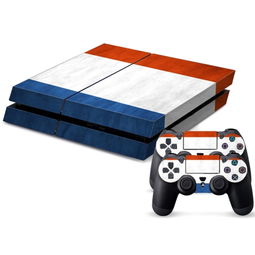 Buy French Flag Pattern Decal Stickers for PS4 Game Console for $4.48 in SUNSKY store
