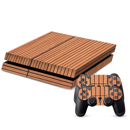 Buy Wood Texture Decal Stickers for PS4 Game Console for $4.48 in SUNSKY store