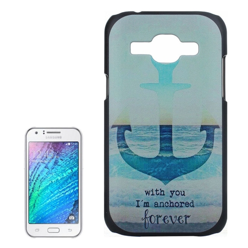Buy Anchor Pattern PC Protective Case for Samsung Galaxy J1 for $1.03 in SUNSKY store