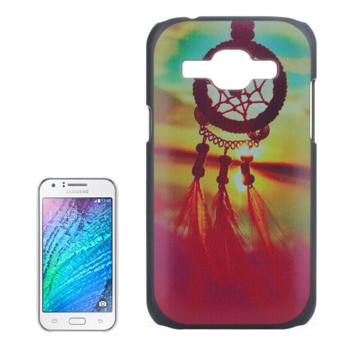 Dreamcatcher Windbell Pattern PC Protective Case for Samsung Galaxy J1