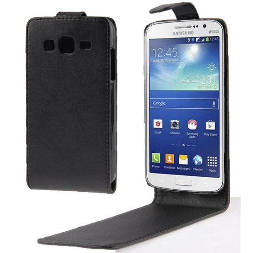 Buy Vertical Flip Leather Case for Samsung Galaxy GALAXY GRAND 2 / G7106 / G7102, Black for $1.48 in SUNSKY store