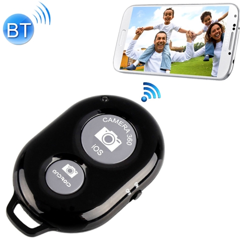 BRCMCOM Chip Universal Bluetooth 3.0 Remote Shutter Camera Control Self-timer, For iPhone, Galaxy, Huawei, Xiaomi, Lenovo, Sony, LG, HTC and Other Smartphones(Black) фото