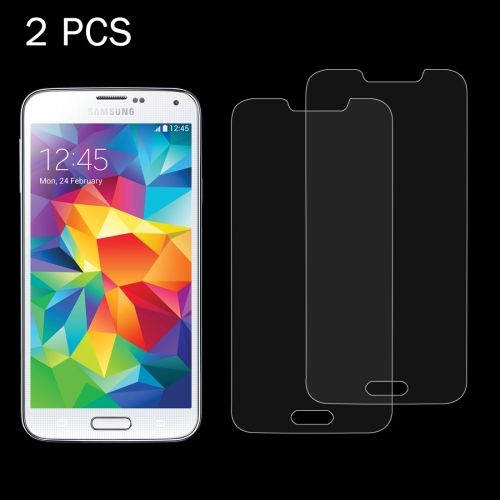 Buy 2 PCS for Samsung Galaxy S5 / G900 0.26mm 9H Surface Hardness 2.5D Explosion-proof Tempered Glass Screen Film for $1.21 in SUNSKY store