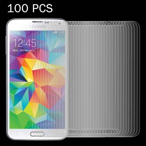 Buy 100 PCS for Samsung Galaxy S5 / G900 0.26mm 9H Surface Hardness 2.5D Explosion-proof Tempered Glass Screen Film for $27.76 in SUNSKY store