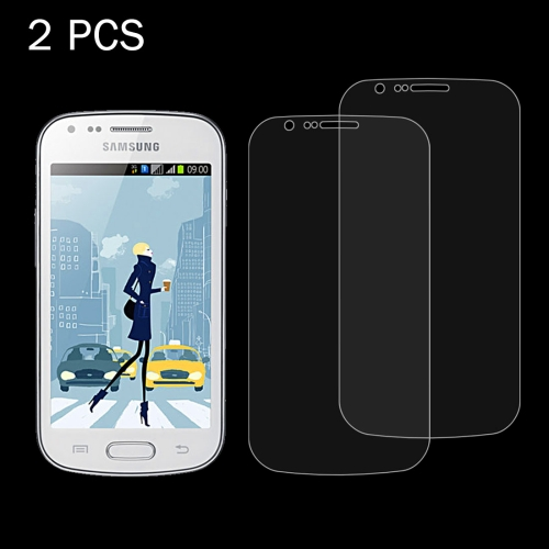 Buy 2 PCS for Samsung Galaxy Trend Duos / S7562 / S7560 0.26mm 9H Surface Hardness 2.5D Explosion-proof Tempered Glass Screen Film for $1.20 in SUNSKY store