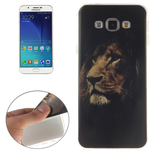 Buy For Samsung Galaxy A8 / A800 Lion Pattern Soft TPU IMD Protective Case for $1.20 in SUNSKY store