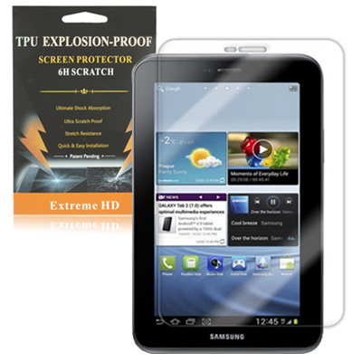 Buy 2.5D Anti-shock Protection Screen for Samsung Galaxy Tab 2 (7.0) / P3100, Transparent for $1.45 in SUNSKY store