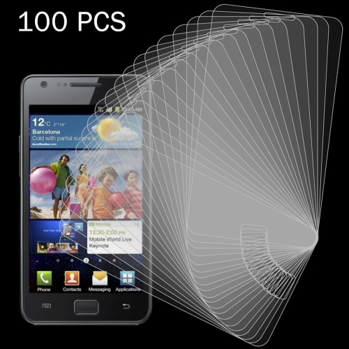 Buy 100 PCS for Samsung Galaxy SII / I9100 0.26mm 9H Surface Hardness 2.5D Explosion-proof Tempered Glass Screen Film for $27.76 in SUNSKY store
