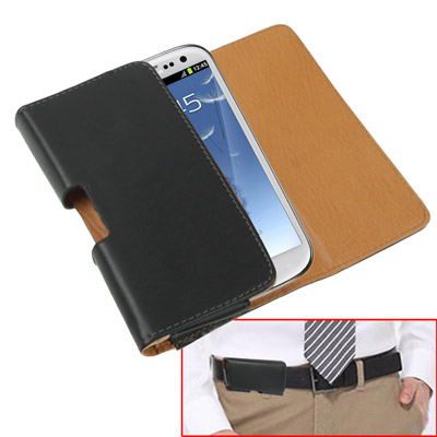 Buy Leather Case Waist Bag with Belt Clip for iPhone 8 & 7 / iPhone 6, Samsung Galaxy SIII / i9300 / i9500, Black for $2.59 in SUNSKY store
