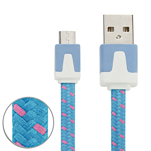 Buy 3m Woven Style Micro USB to USB Data / Charging Cable for $1.28 in SUNSKY store