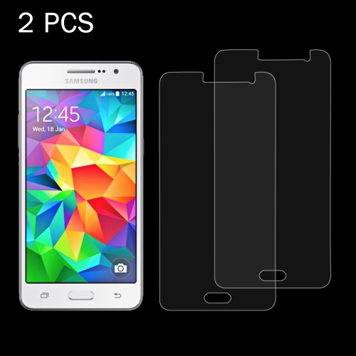 Buy 2 PCS for Samsung Galaxy Grand Prime / G530 0.26mm 9H Surface Hardness 2.5D Explosion-proof Tempered Glass Screen Film for $1.14 in SUNSKY store
