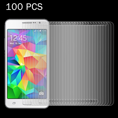 Buy 100 PCS for Samsung Galaxy Grand Prime / G530 0.26mm 9H Surface Hardness 2.5D Explosion-proof Tempered Glass Screen Film for $27.77 in SUNSKY store