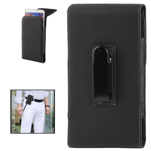 Buy Litchi Texture Vertical Wallet Style Leather Case with Belt Clip for Samsung Galaxy Note III / N9000 / N7100, Black for $2.86 in SUNSKY store