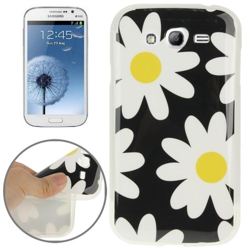 Buy Flower Pattern TPU Case for Samsung Galaxy Grand Duos i9082 / i9060 / i9062 / i9063 / i9080 for $1.20 in SUNSKY store