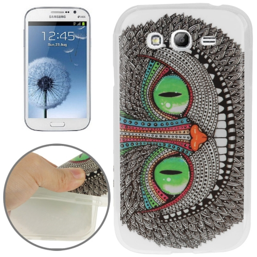 Buy Cheshire Cat Pattern TPU Case for Samsung Galaxy Grand Duos i9082 / i9060 / i9062 / i9063 / i9080 for $1.20 in SUNSKY store