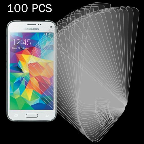 Buy 100 PCS for Samsung Galaxy S5 Mini / G800 0.26mm 9H Surface Hardness 2.5D Explosion-proof Tempered Glass Screen Film for $27.77 in SUNSKY store