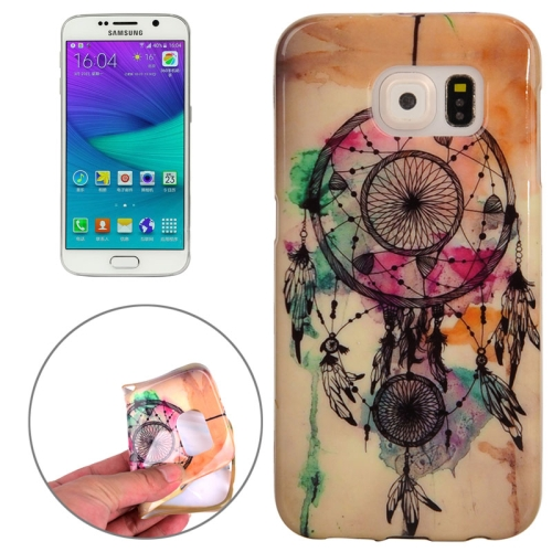 Buy For Samsung Galaxy S6 Edge / G925 Dreamcatcher Pattern TPU Protective Case for $1.20 in SUNSKY store