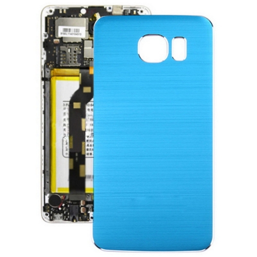 Buy Metal Wire Drawing Replacement Battery Back Cover for Samsung Galaxy S6, Blue for $2.66 in SUNSKY store