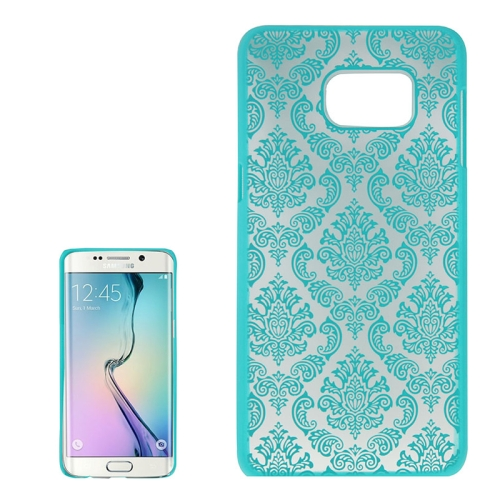Buy For Samsung Galaxy S6 Edge+ / G928 Embossed Flowers Pattern Protective Hard Case, Green for $1.28 in SUNSKY store