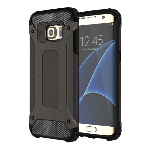 For Galaxy S7 Edge / G935 Tough Armor TPU + PC Combination Case (Black)