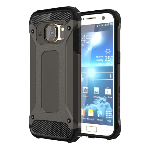 For Galaxy S7 / G930 Tough Armor TPU + PC Combination Case (Black)