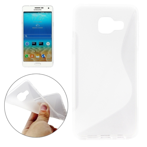 Buy For Samsung Galaxy A7, 2016 / A710 Ultrathin S-Shaped Soft TPU Protective Cover Case, Transparent for $1.20 in SUNSKY store